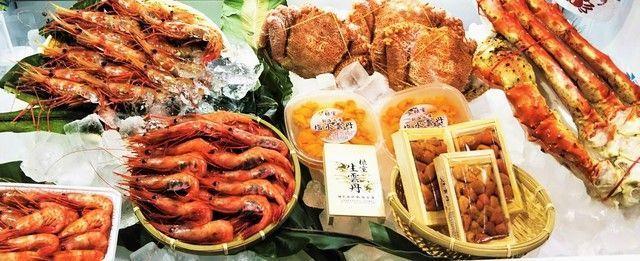 【北海道〜関西限定】蟹・海老・生うに