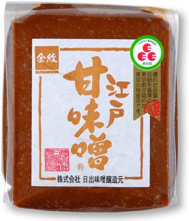 金紋 江戸甘味噌(赤・漉) 500g